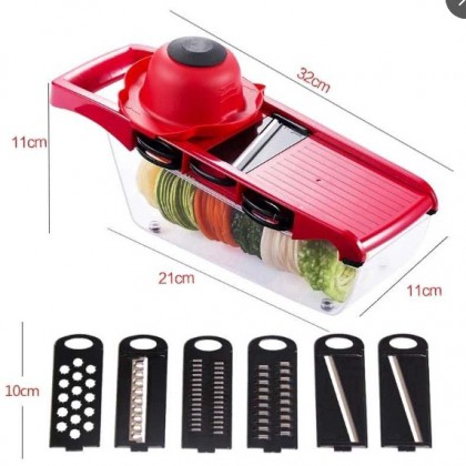 10 in 1 Multi Slicer Dicer Vegetable Cutter With Container
