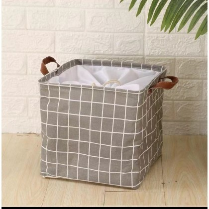 Cloths Large-Capacity Waterproof Folding Dirty Clothes Laundry Basket 32CM*32CM Laudry Bucke