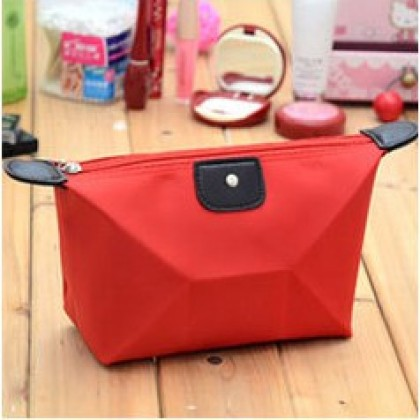 Make Up Cosmetic Bag Travel Pouch Coin Zip Lady Dompet Makeup Colourful Mini Beg Wallet